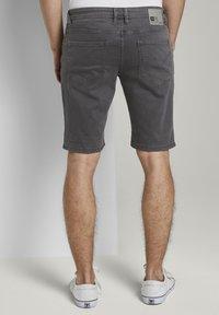 TOM TAILOR DENIM - Denim shorts - eiffel tower - 2