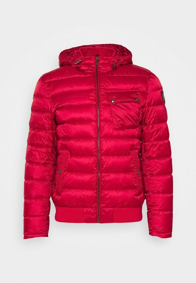 STREAMLINE JACKET - Down jacket - red