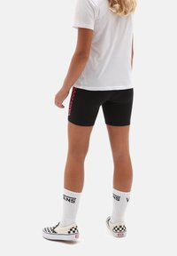 Vans - GR CHALKBOARD II LEGGING SHORT GIRLS - Shorts - black - 1