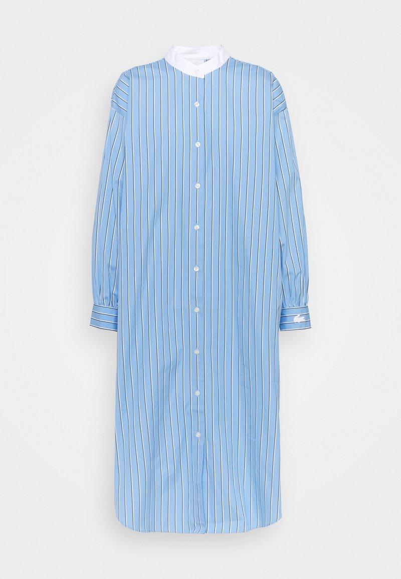 Lacoste LIVE - Shirt dress - nattier blue