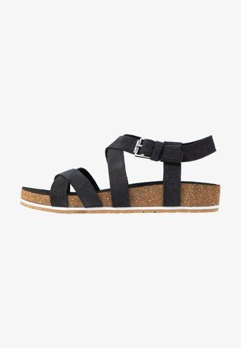 MALIBU WAVES ANKLE - Sandals - black