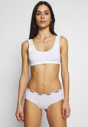 HIPSTER 3 PACK - Slip - white/grey/black