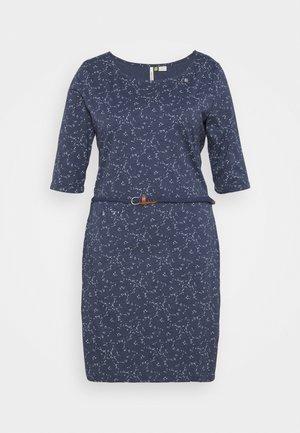 TAMY - Jersey dress - navy