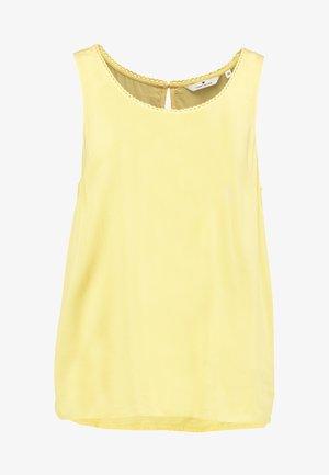 Bluse - daylily yellow