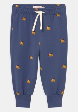 DOGS BABY UNISEX - Trousers - soft blue/honey