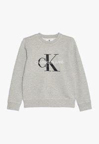 Calvin Klein Jeans - MONOGRAM LOGO - Mikina - light grey heather - 0