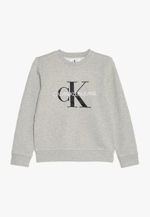 MONOGRAM LOGO - Felpa - light grey heather