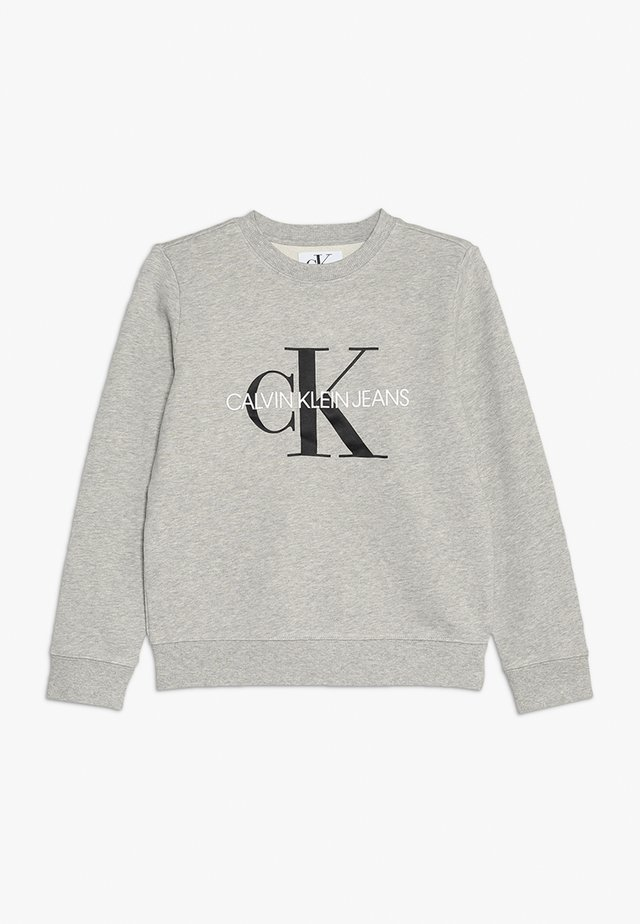 MONOGRAM LOGO - Sweatshirt - light grey heather