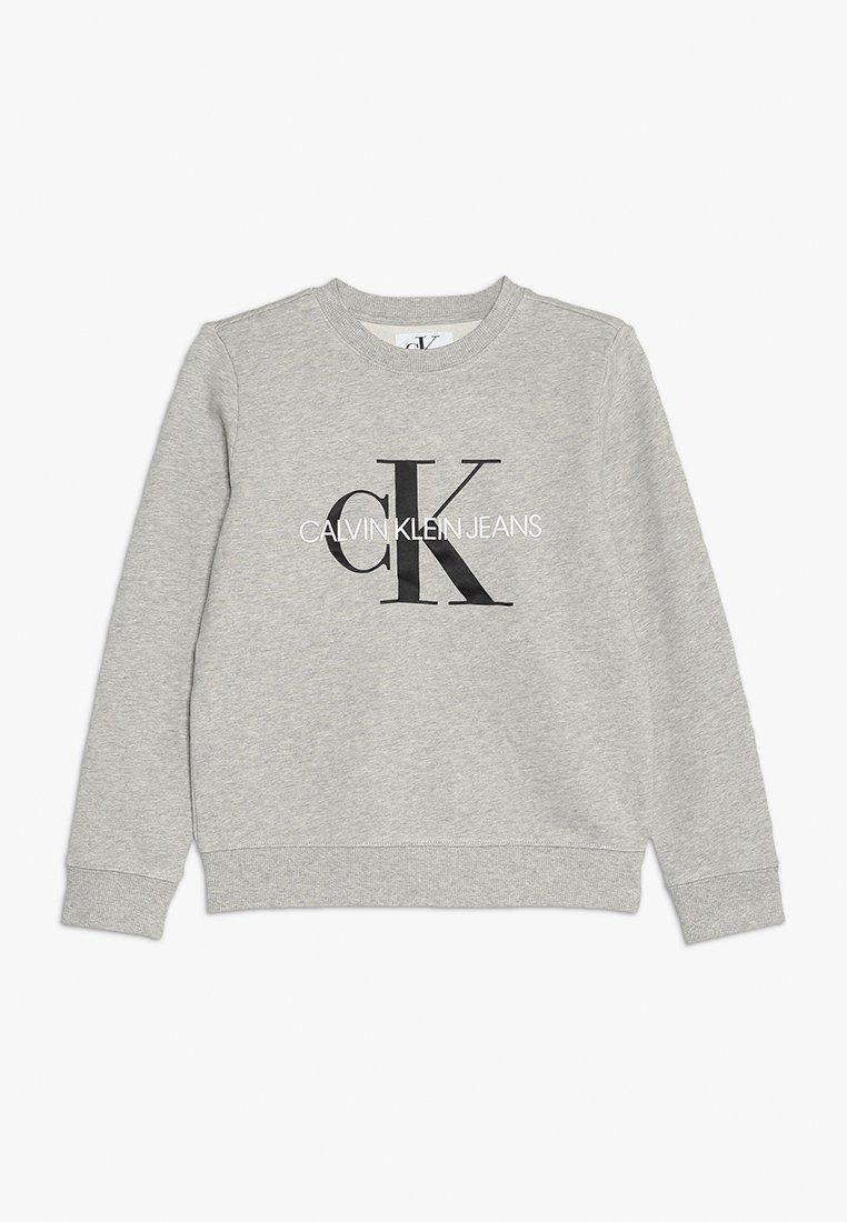 Calvin Klein Jeans - MONOGRAM LOGO - Mikina - light grey heather