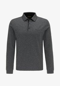 Pierre Cardin - GESTREIFT - Polo shirt - schwarz - 6
