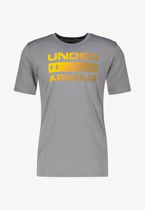 Print T-shirt - taupe