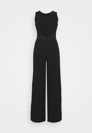 DANYA CUT OUT JUMPSUIT - Mono - black