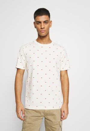 CLASSIC CREWNECK TEE - T-shirt imprimé - sand