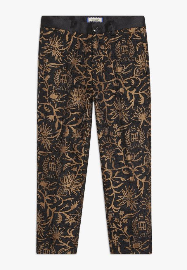DRESSED PANTS - Kalhoty - black