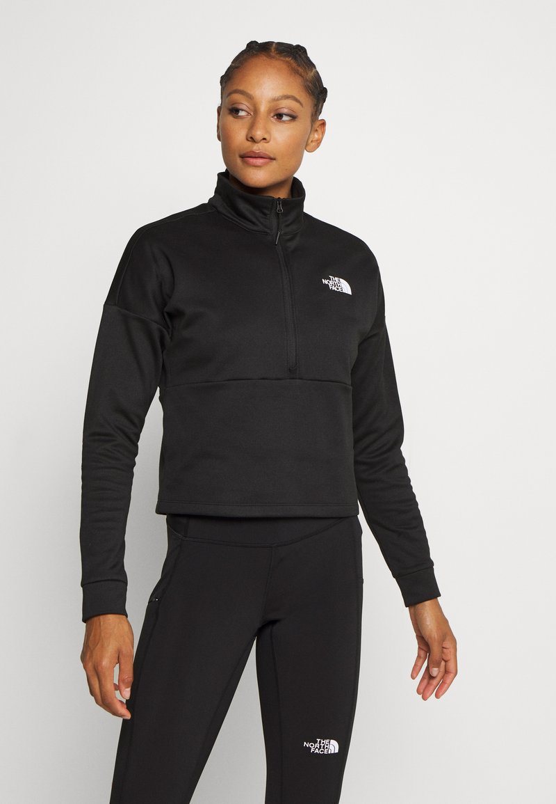 The North Face - W ACTIVE TRAIL MW 1/4 ZIP - Sweatshirt - black