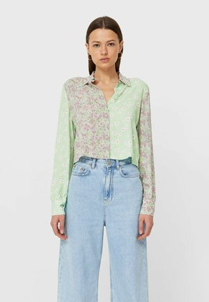 Button-down blouse - mint