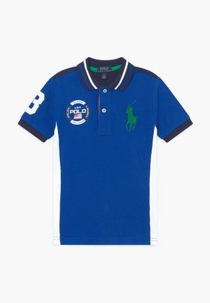 Polo shirt - pacific royal