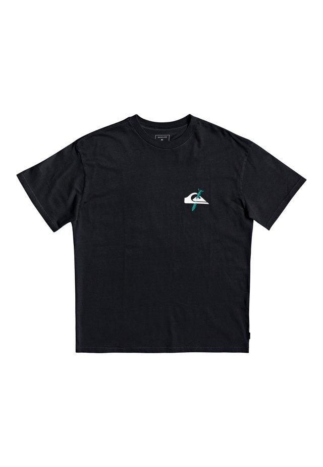 QUIKSILVER™ BROKEN TONGUE - T-SHIRT FÜR MÄNNER EQYZT05814 - T-shirt con stampa - black
