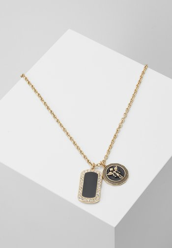 HEAVENLY DOG TAG - Necklace - gold-coloured