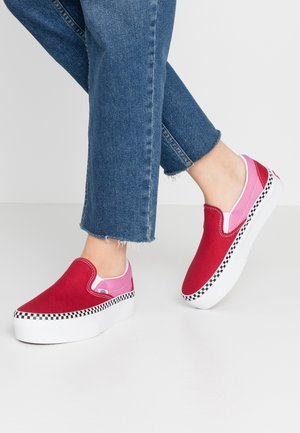 CLASSIC - Mocasines - chili pepper/fuchsia pink