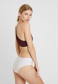Esprit - MELTON HIPSTER - Pants - white - 2