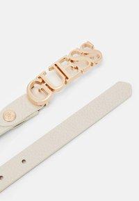 Guess - UPTOWN CHIC ADJUST PANT BELT - Belt - stone - 1