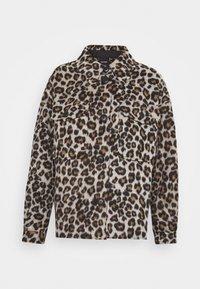 VMLEONY SHORT JACKET - Summer jacket - tobacco brown