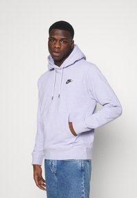 Nike Sportswear - HOODIE - Hoodie - purple chalk/smoke grey - 0