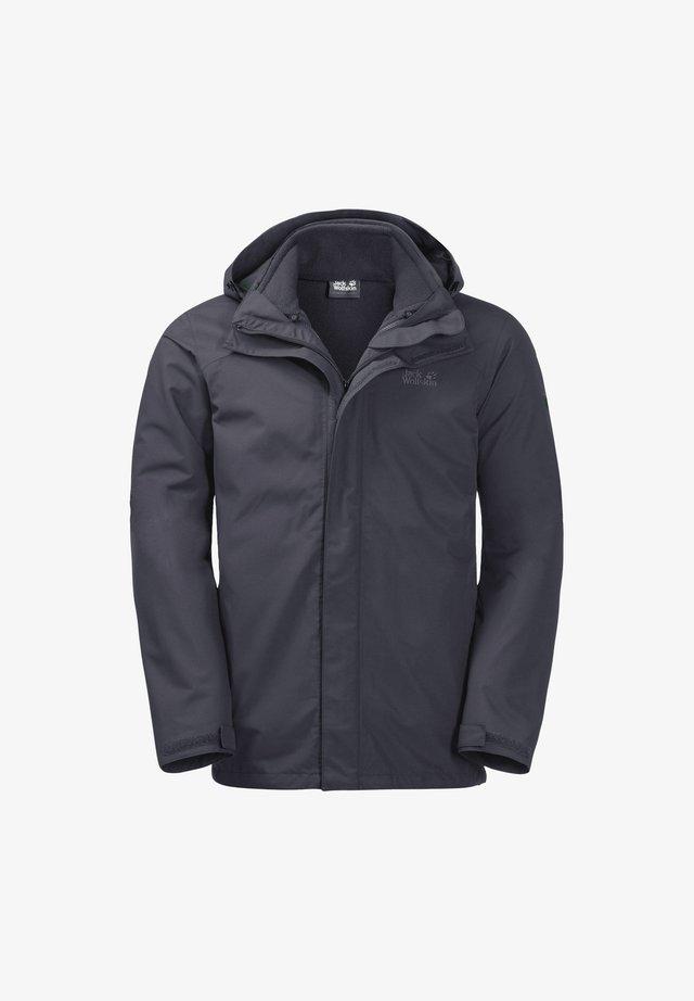 Hardshell jacket - ebony
