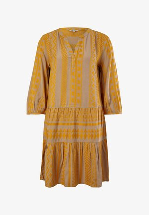 Day dress - sand embroidery