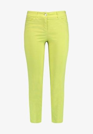 Slim fit jeans - lime