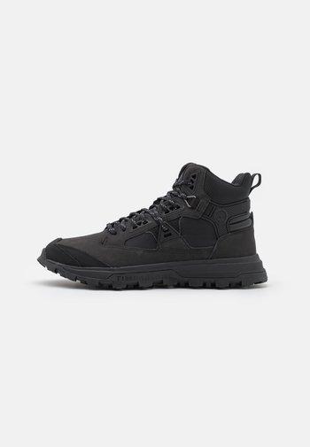 TREELINE MID - Lace-up ankle boots - blackout