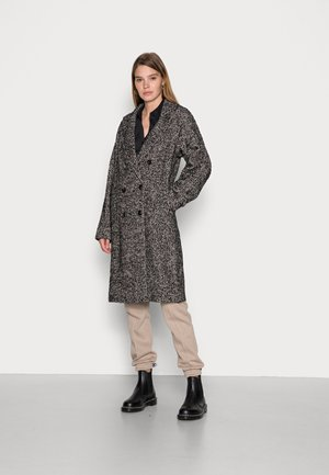 DOUBLE BREASTED CLASSIC BLEND - Classic coat - combo