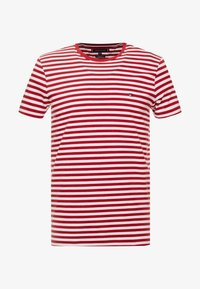 Tommy Hilfiger - T-shirt basic - rhubarb/bright white - 4
