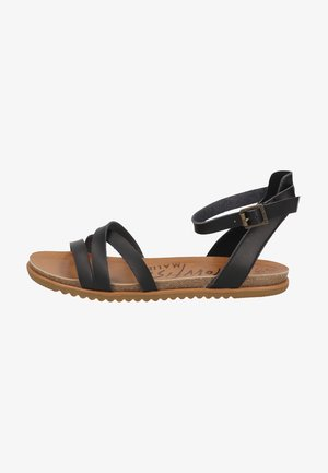 Sandals - black dyecut
