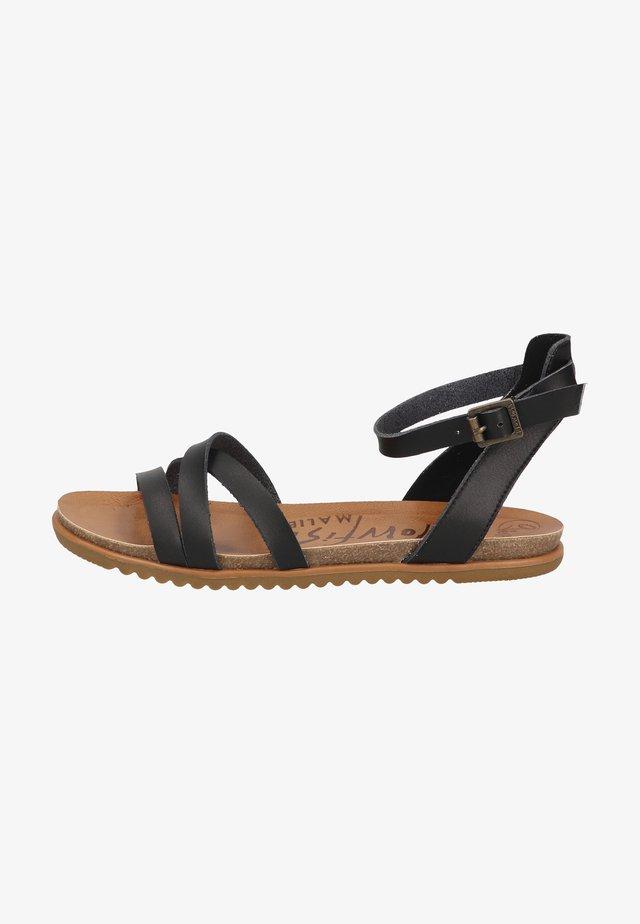 Sandales - black dyecut