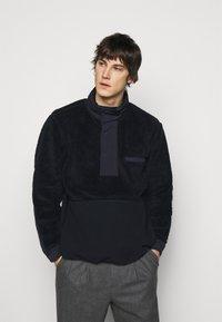 Theory - COLLINS ZIP - Fleece jacket - dark blue - 0