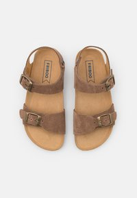 Friboo - LEATHER - Sandals - brown - 3