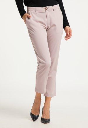 Spodnie materiałowe - nude