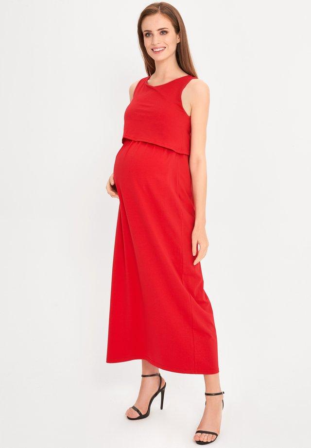 Maxi-jurk - red