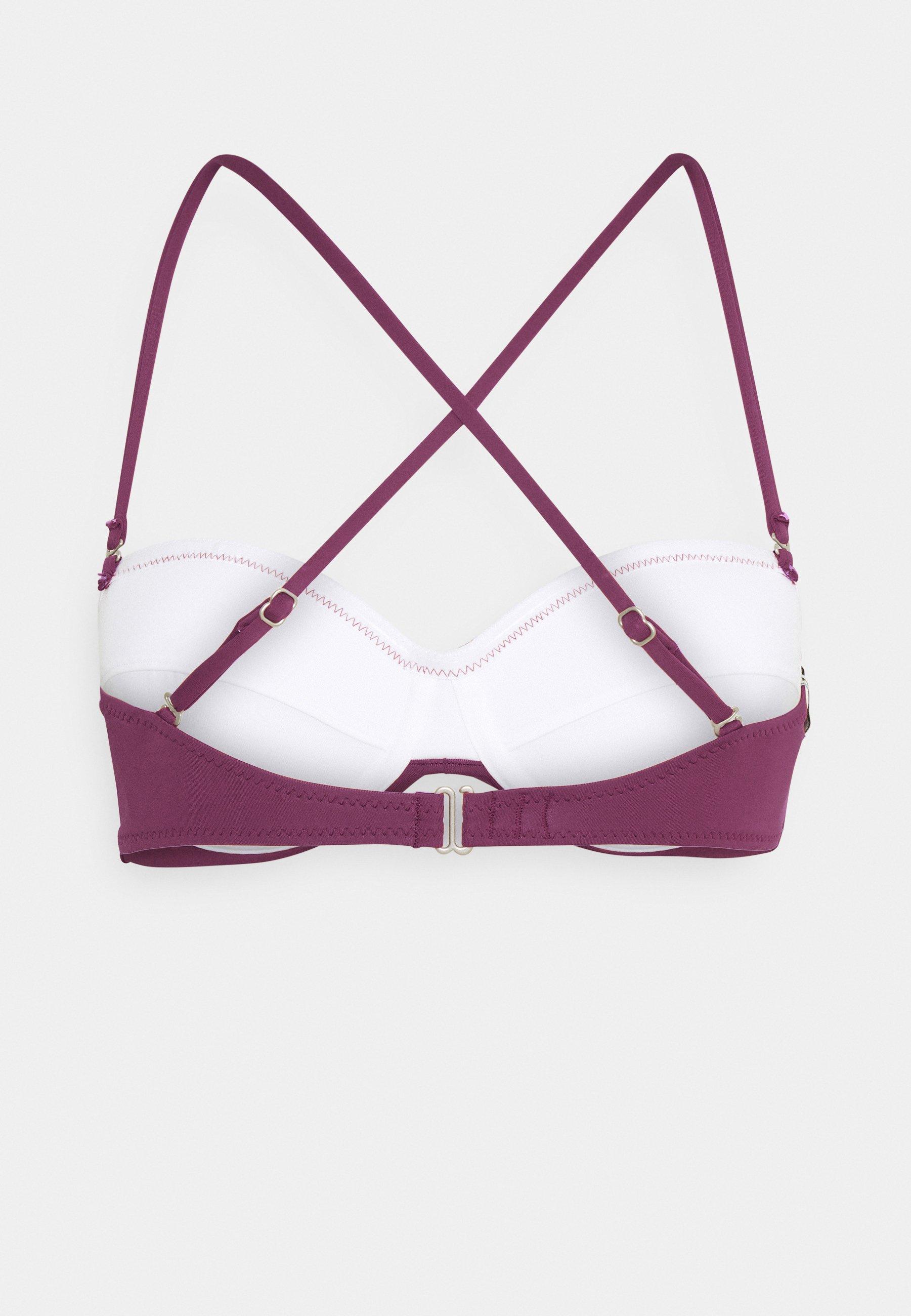 Women KNOTTED BANDEAU  - Bikini top