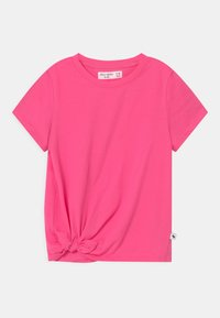 Abercrombie & Fitch - TIE DETAIL - T-shirts print - neon pink - 0