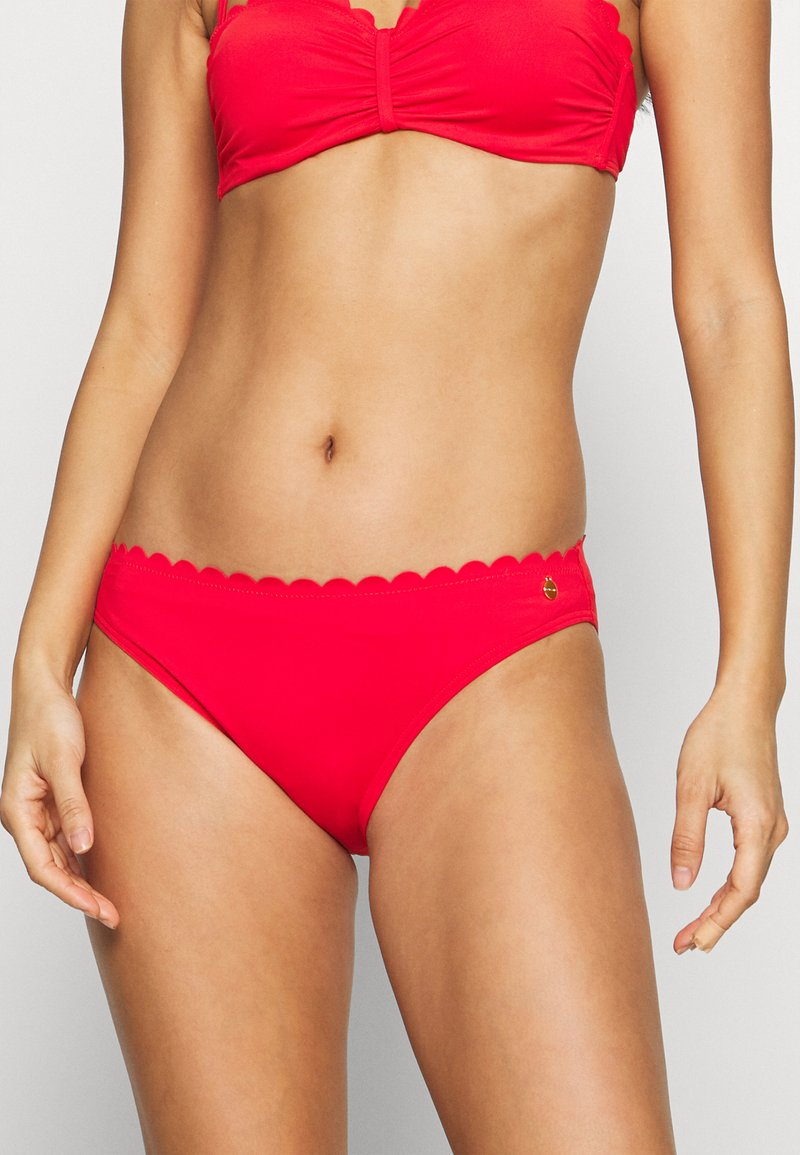 LASCANA - PANTS NORMAL - Bikini bottoms - red
