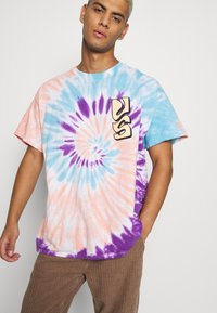 Vintage Supply - SPIRAL TIE DYE WITH FAR OUT SUN GRAPHIC - Print T-shirt - multicoloured - 3