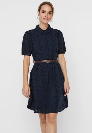 STICKEREI - Shirt dress - carbon