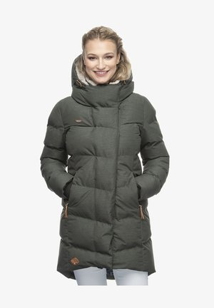 PAVLA - Winter coat - olive