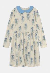 Mini Rodini - WINTERFLOWERS DRESS - Jersey dress - blue - 0