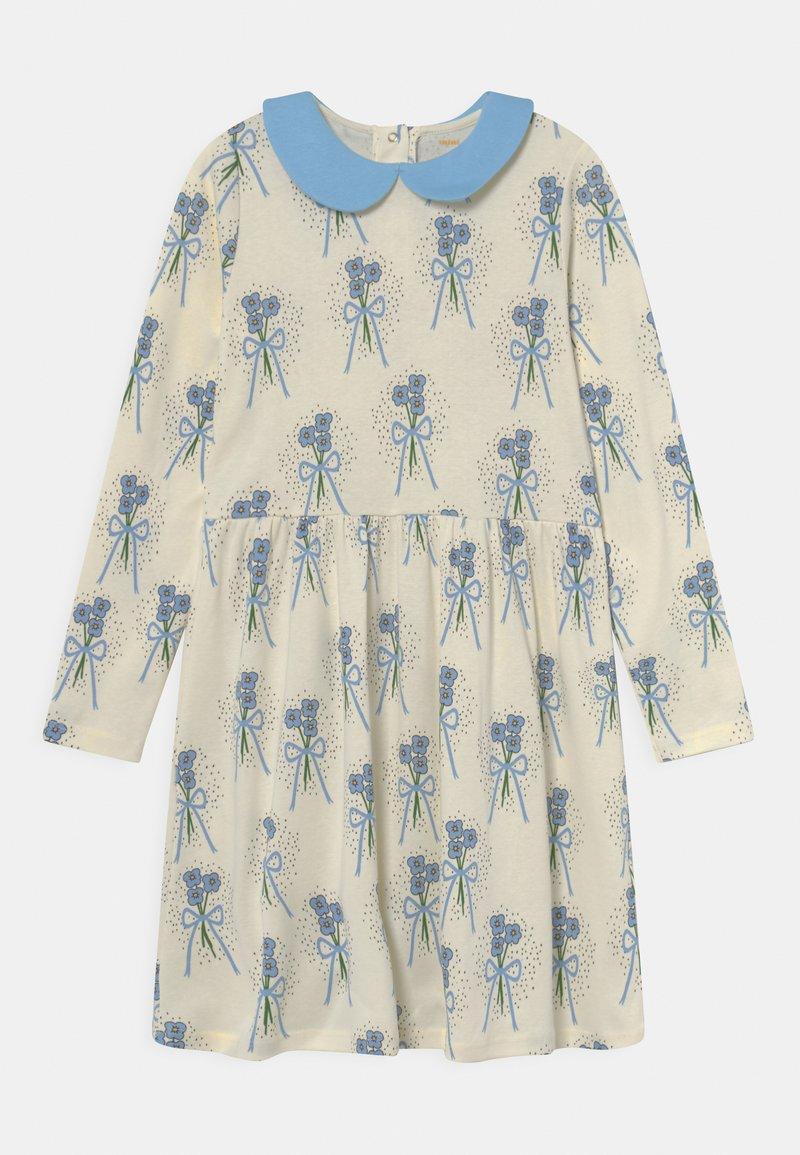 Mini Rodini - WINTERFLOWERS DRESS - Jersey dress - blue
