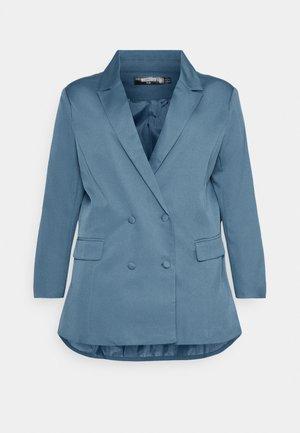 GRANDAD SIDE SPLIT  - Cappotto corto - blue
