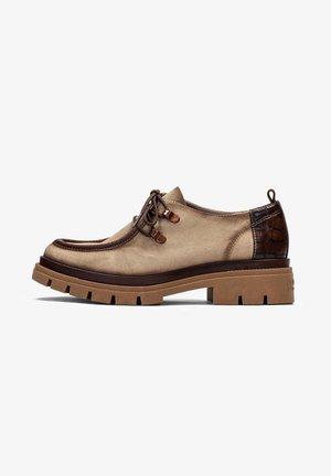 ALISON  - Korte laarzen - beig
